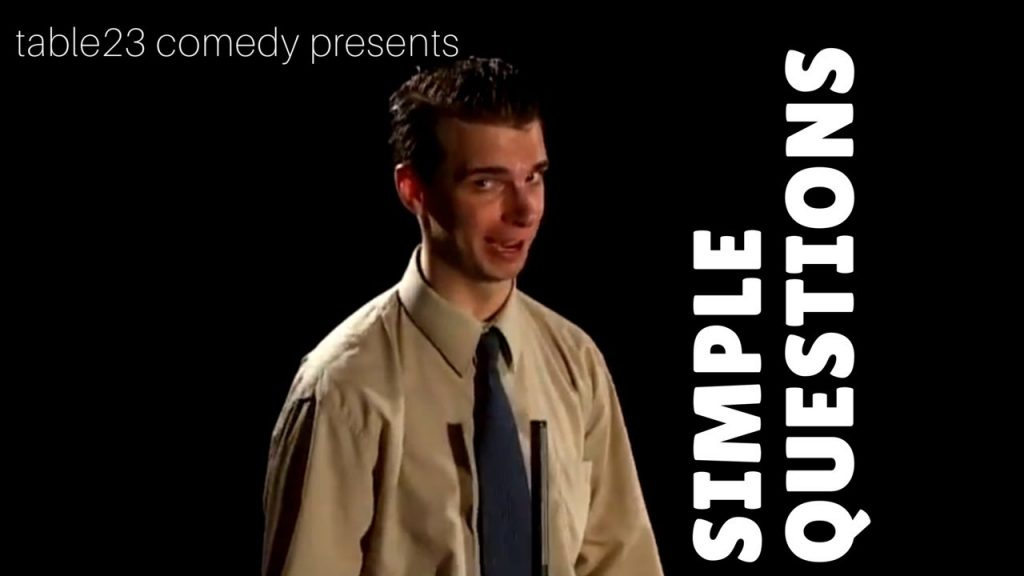 """table23 comedy  – """"Simple Questions"""" Game Show"""