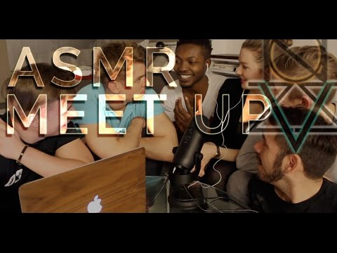 ASMR Whisper PARTY 🎉 – 7 People Whispering | Female & Male Meet-up | VIZZION ASMRtainment