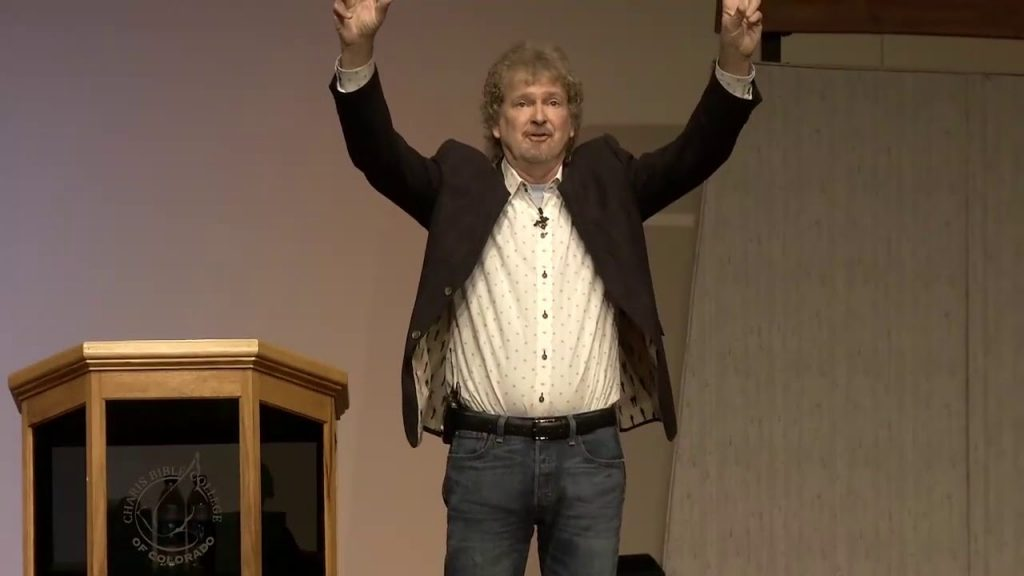 """Duane Sheriff """"Identity In Christ -Revelation Knowledge  2 Of 2"""" @ Charis Bible College   10/13/17"""
