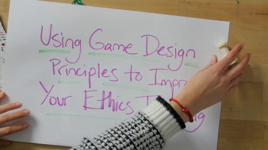 Teaching Ethics with Games – Introduction