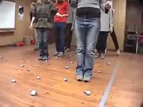 Minefield — Duct Tape Teambuilding Game