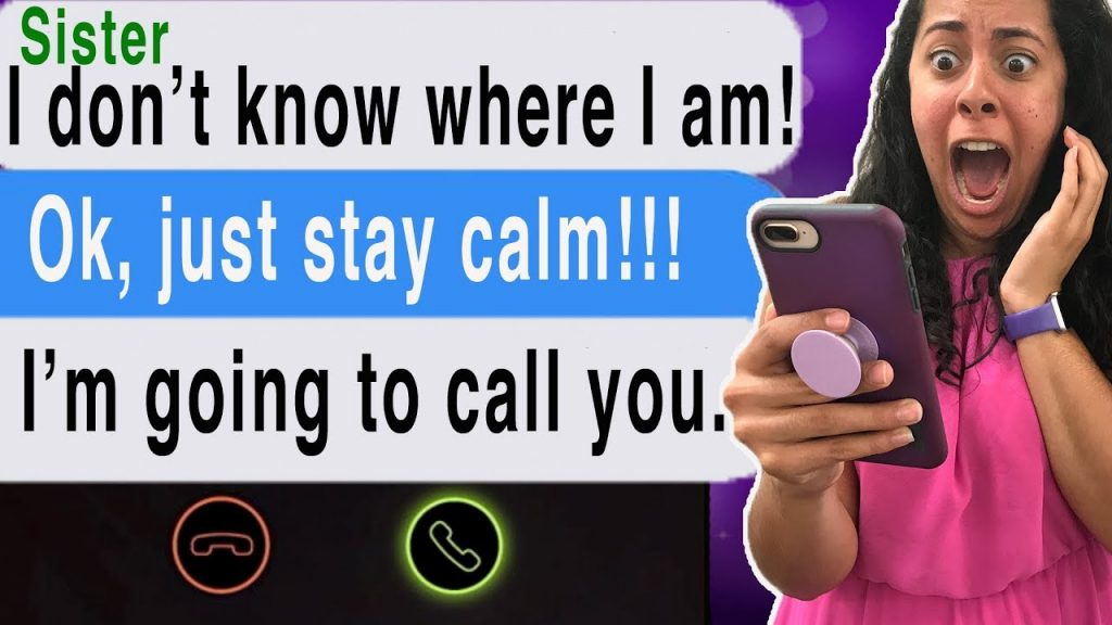 Texting My DEAD Sister!!! *She Called ME* (Cliffhangers   Scary Text Message Story   Station)