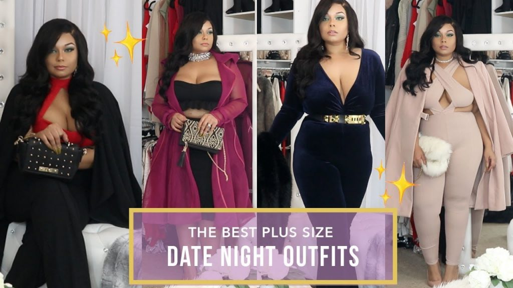 DRESS ATTRACTIVE : THE BEST PLUS SIZE DATE NIGHT OUTFITS + ONLINE DATING CHIT CHAT