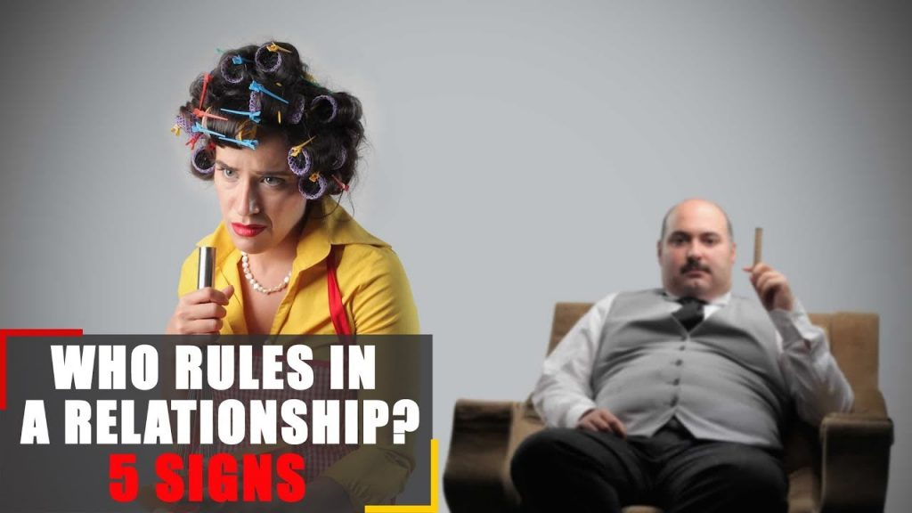 Who rules in a relationship? 5 signs