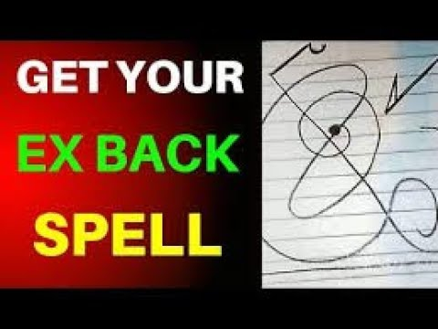 GET YOUR EX BACK 😱 POWERFUL SPELL