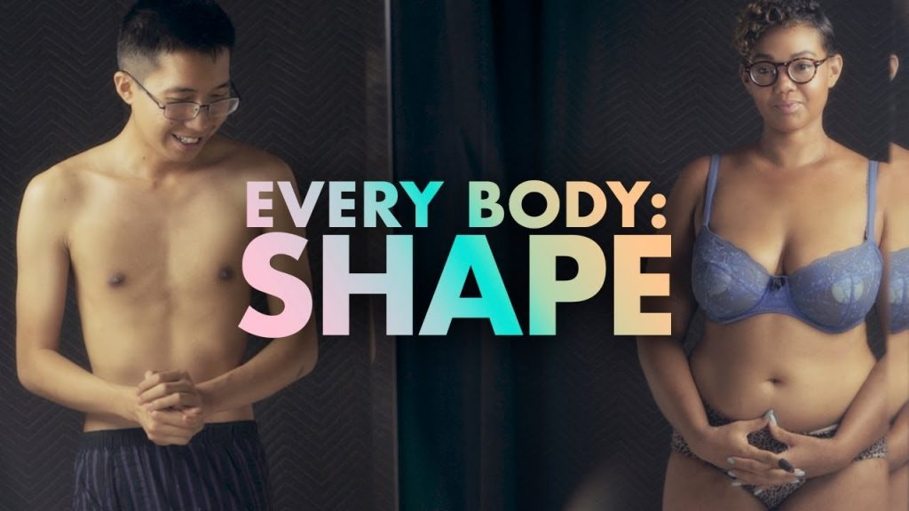 Strangers Get Undressed and Talk About Body Shape