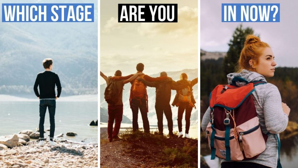 The 3 Stages Of Personal Development – Discover Where YOU Are