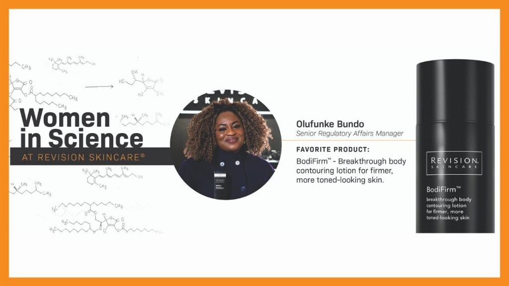Happy Women's History Month and International Women's Month from Revision Skincare — Meet Olu B!