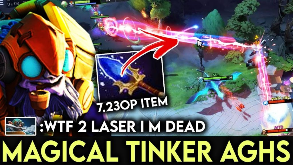 Unexpected Heavy Burst LASER DAMAGE – MagicaL Tinker Fast Plays Dota 2