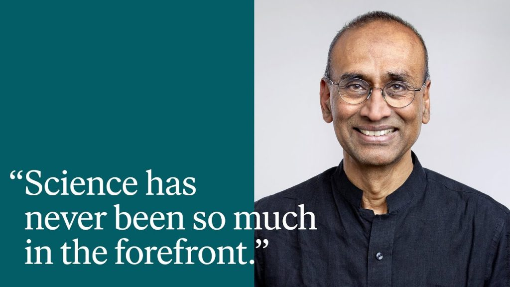 Interview and Q&A with Venki Ramakrishnan